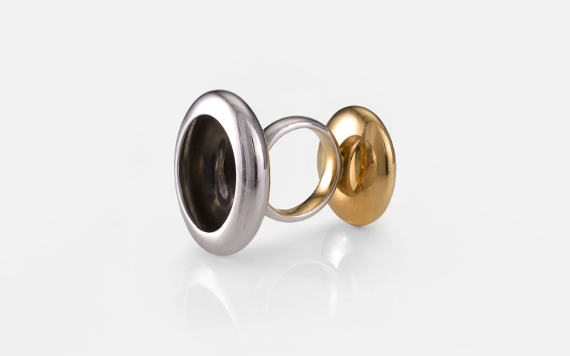 Anish Kapoor - Two sided ring