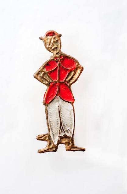 La spilla del Signor Bonaventura, il personaggio nato nel 1917 dal disegnatore Sergio Tofano -