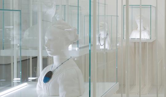 L'allestimento di Brilliant mostra della XXI Esposizione internazionale della Triennale di Milano
